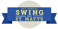 Swing for St Matt's - be a sponsor!